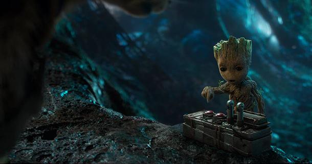 Guardiani della Galassia 2 Baby Grooth